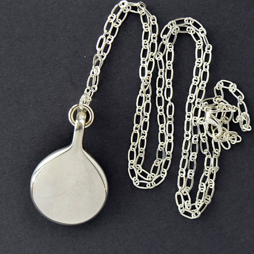 Long Bassoon Key Necklace (round key)