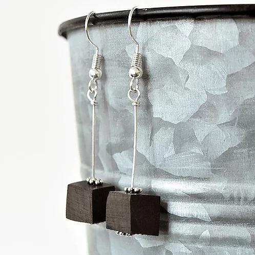 Double Bass Pendulum Earrings