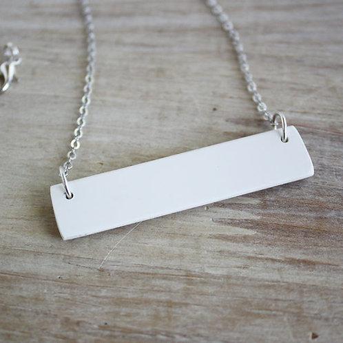 Piano Key Bar Necklace