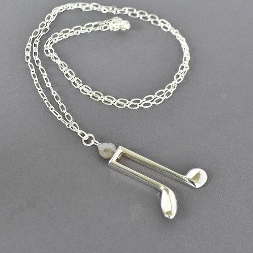 Long Oboe Key Necklace