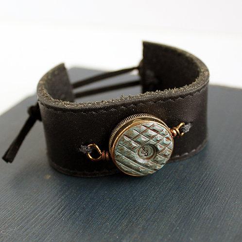 Trumpet Valve Cap Cuff Bracelet