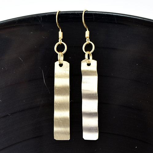 Bent Baritone Bell Earrings