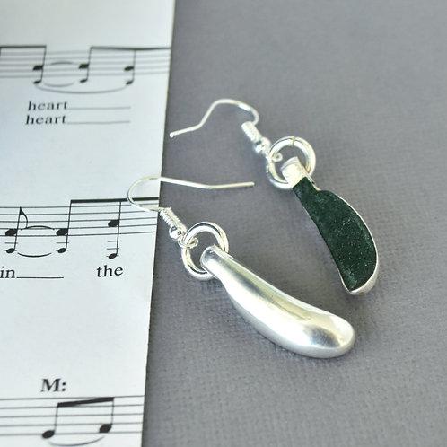 Bassoon Key Earrings