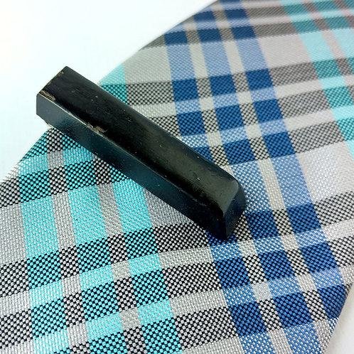 Black Key Piano Tie Clip