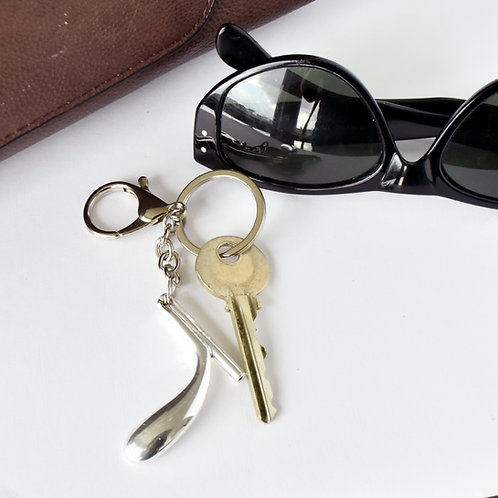 Bassoon Key Key Chain