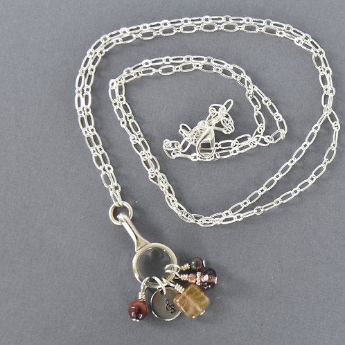 Clarinet Convertible Charm Necklace