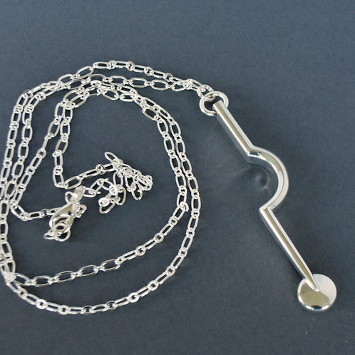 Bassoon Key Long Necklace