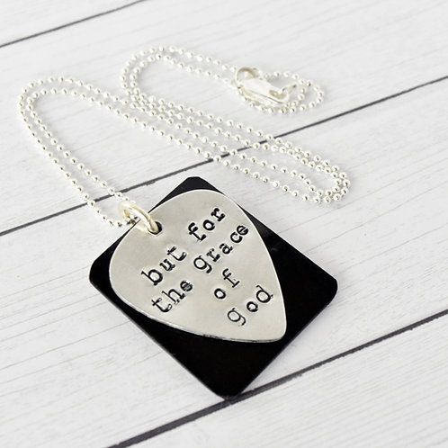 Keith Urban - But For The Grace of God Acoustic Guitar Wood Necklace