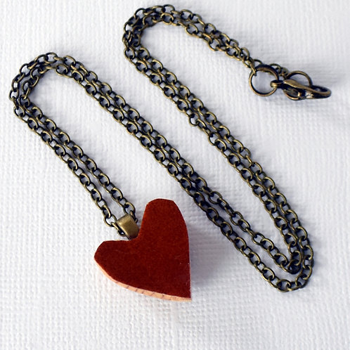 Cello Heart Necklace