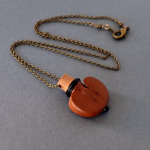 Violin Tuning Peg Necklace