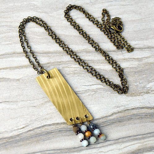 Wild Child Drum Cymbal Necklace