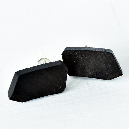 Double Bass Fingerboard Stud Earrings