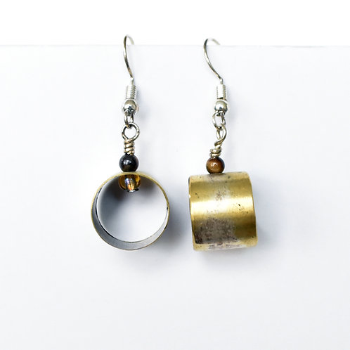 Trombone Slide Earrings