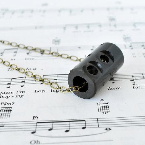 Piccolo Grenadilla Wood Necklace