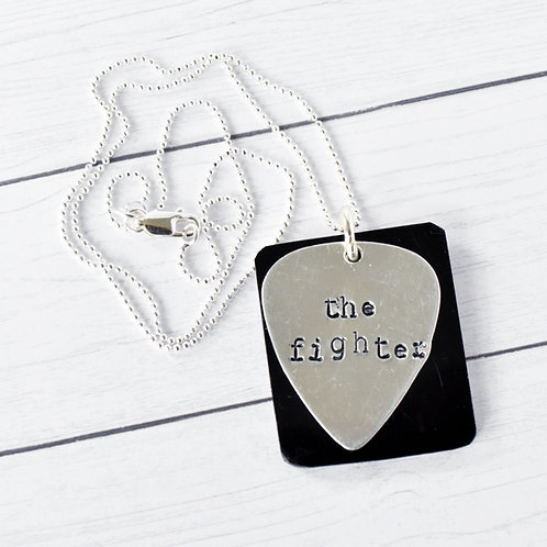 Keith Urban - The Fighter Acoustic Guitar Wood Necklace