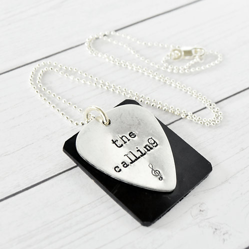 The Killers - The Calling Acoustic Guitar Wood Necklace