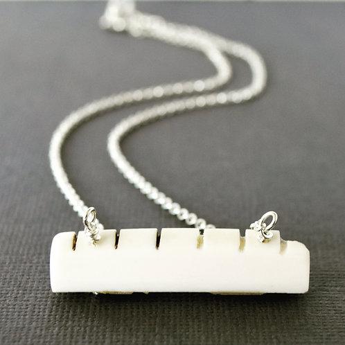 Guitar Nut Necklace