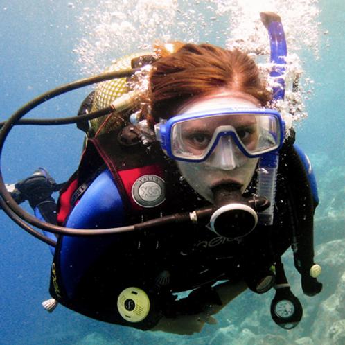 Curso NAUI Scuba Dive - Curso Introdutório de Mergulho