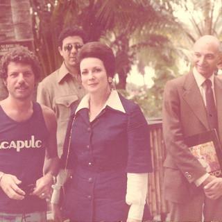 JEHAN SADAT, ACAPULCO ROYAL HOTEL, 1972
