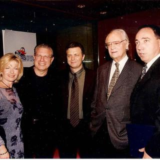 ISRAEL FILM FESTIVAL, MEIR FENIGSTEIN, EPHRAIM KISHON, & YUVAL ROTEM, LA  2001