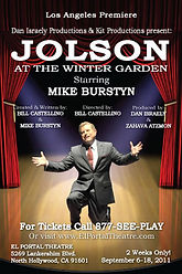 Jolson at the Winter Garden, Los Angeles premiere, El Portal Theatre