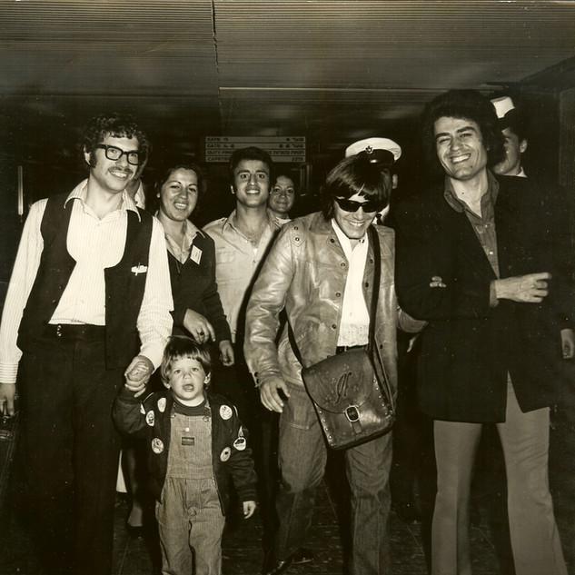 HAIM SABAN, JOSE FELICIANO & MY SON PETER, 1972