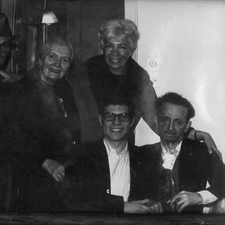 ITZIK & GENIA MANGER WITH MY PARENTS PEASCH & LILI