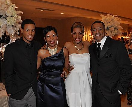 Sharon Gill and her family. Left to right: Gavin, Sharon, Brittany, Wayne