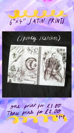 £1 Print - Spooky