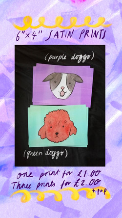 £1 Print - Dogs
