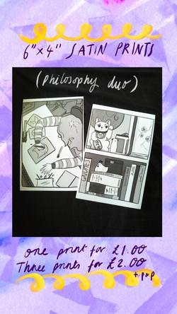 £1 Print - Philosophies