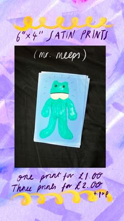 £1 Print - Mr. Meeps