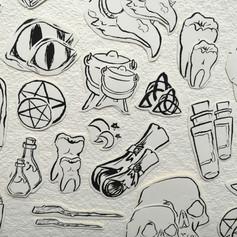 Drawtober Stickers