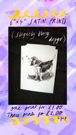 £1 Print - Dog