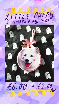 Doggo Embroidery
