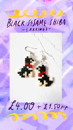 Shiba Earrings