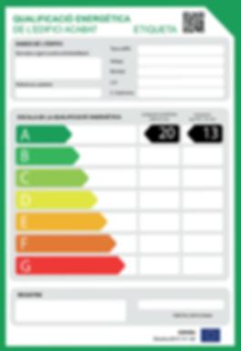 Certificat d'Eficiència Energètica Tarragona CEE