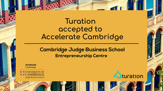 Turation accepted to Accelerate Cambridge