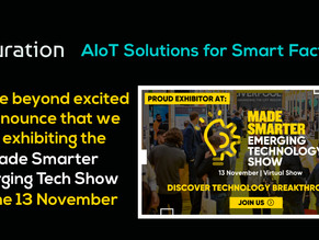 Turation at Made Smarter Emerging Tech Show