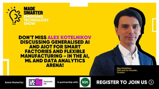 Generalised AI and AIoT for Smart Factories and Flexible Manufacturing