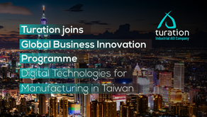 """Turation joins Global Business Innovation Program """"Digital Technologies for Manufacturing in Taiwan"""""""