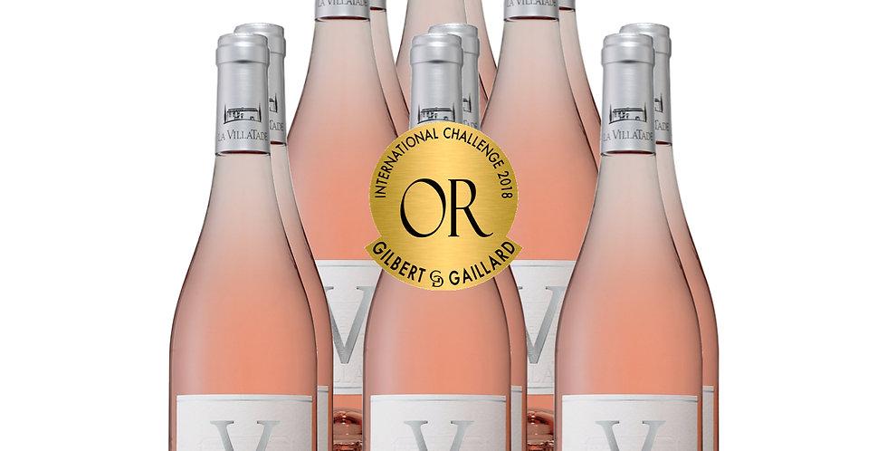 """Villatade """"V"""" Rosé Case"""