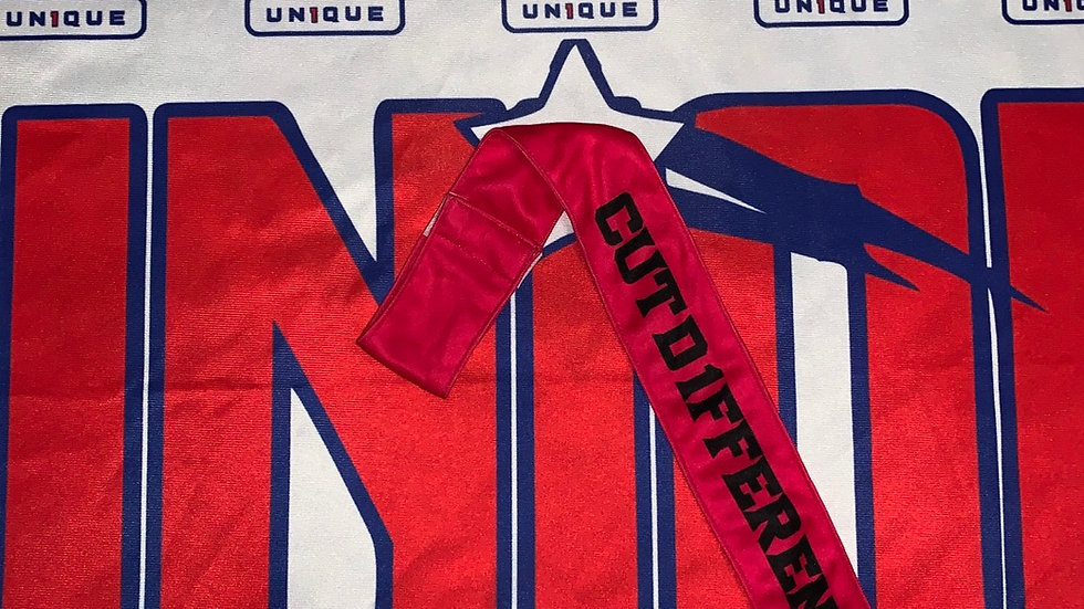 (Sublimated) CUTD1FFERENT Streamer Towel