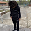 Thumbnail: Full Zip Jacket W/ Hood and Jogger Style Pants