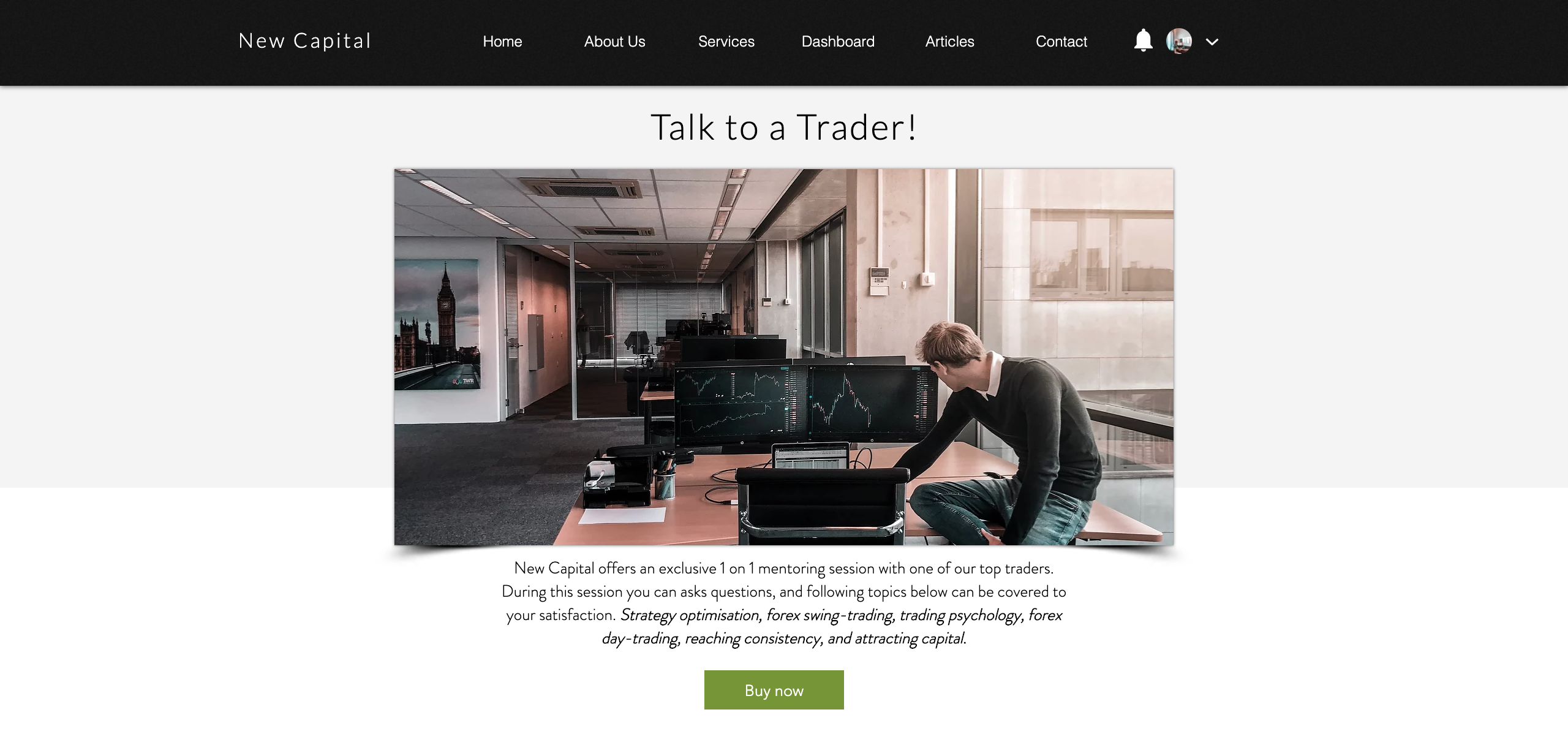 forex trading service