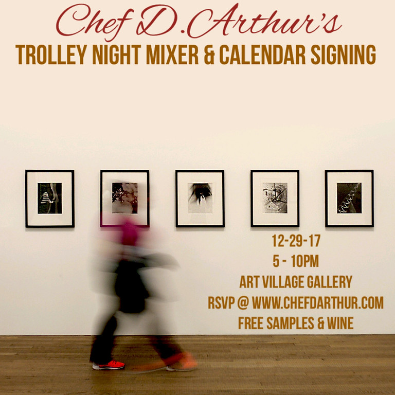 D.Arthur's Trolley Night Mixer & Calendar Signing