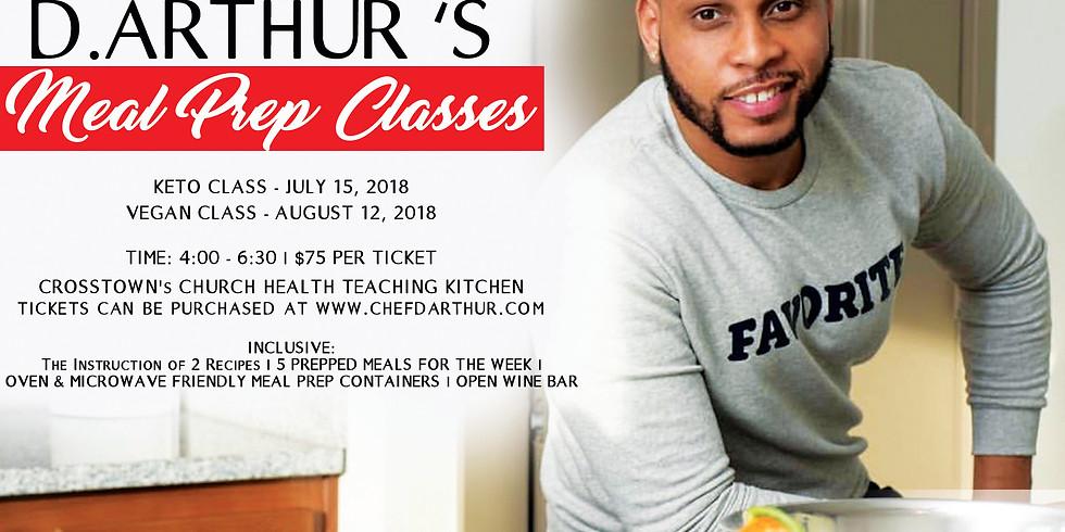 Keto Meal Prep Class - July