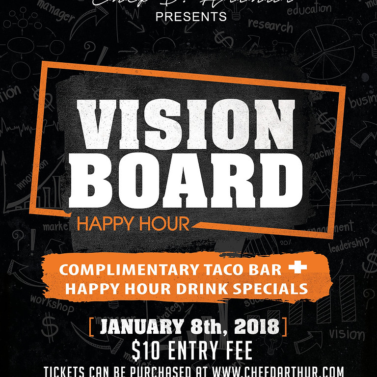 D.Arthur's Vision Board Happy Hour
