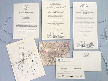 Wedding Invitation Portfolio