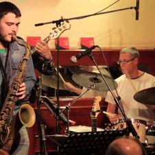 Skytrain - EPK - Live at Cafe Central (Madrid, 2014).